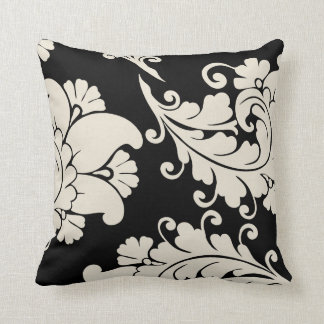Designer Damask Throw Pillow