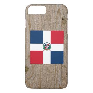 Designer Dominican Republic Flag Box iPhone 7 Plus Case