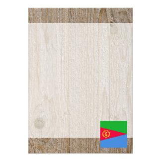 Designer Eritrea Flag Box 13 Cm X 18 Cm Invitation Card