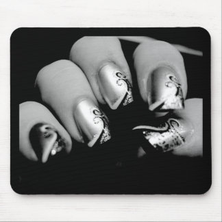 Designer Fingernails Mouse Pad