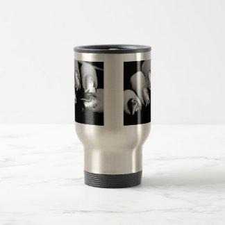 Designer Fingernails Stainless Steel Travel Mug