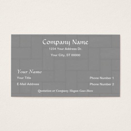 Designer flooring wood tile business cards zazzlecomau for Tiler business card
