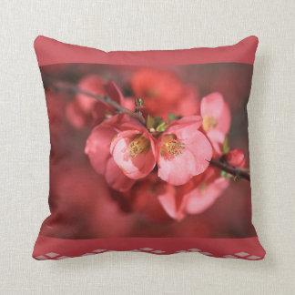 Designer Flowering Quince Pillow