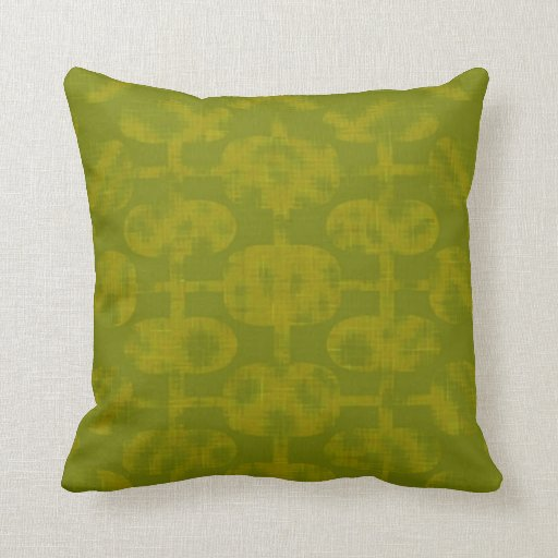 Designer Green American MoJo Pillow