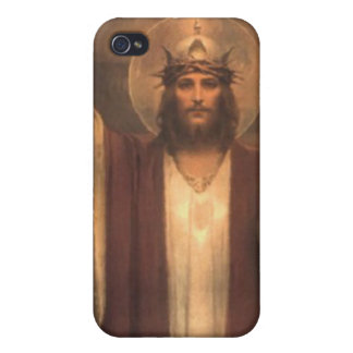 Designer iPhone case featuring Christ the King iPhone 4 Cases