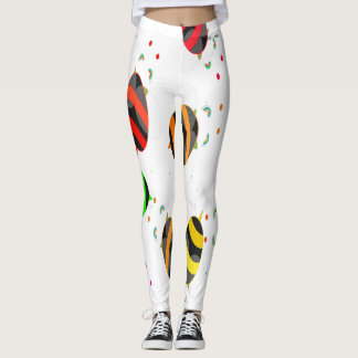 DESIGNER LABEL BUMBLE BEE  LADIES LEGGING