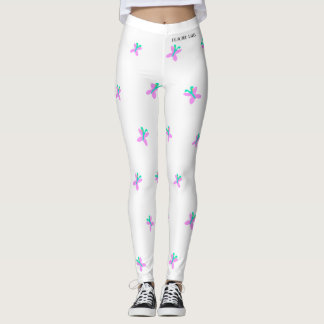 DESIGNER LABEL BUTTERFLIES  LADIES LEGGING