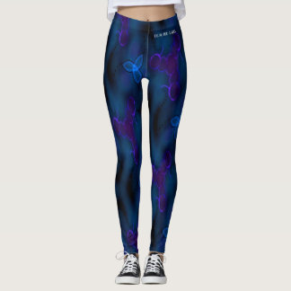 DESIGNER LABEL FEELING BLUE  LADIES LEGGING
