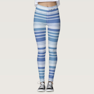 DESIGNER LABEL STRIPES  LADIES LEGGING