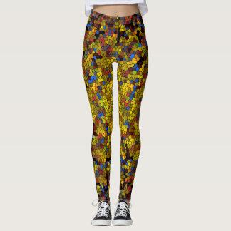 Designer Mosaic Leggings