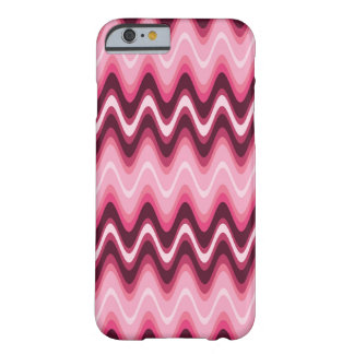 Designer Pink Wave It Barely There iPhone 6 Case