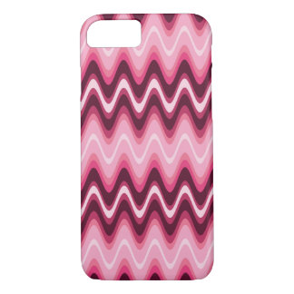 Designer Pink Wave It iPhone 8/7 Case