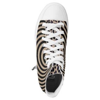 Designer printed high tops converse Sneakers