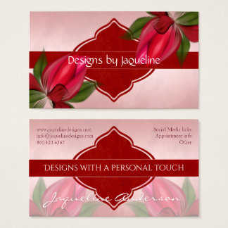 Designer Red Blooms