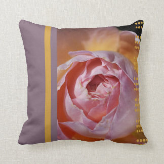 Designer Rose in Pink Pillow Cushions