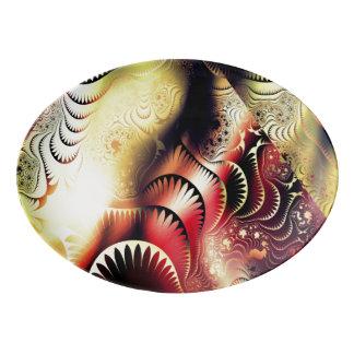 Designer Serving Platter by Leslie Harlow
