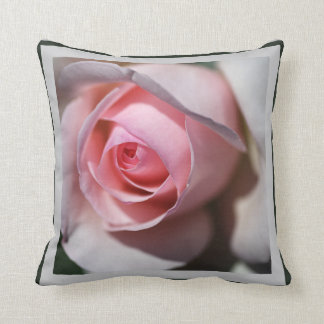 Designer Soft Pink And White Pillow Cushion