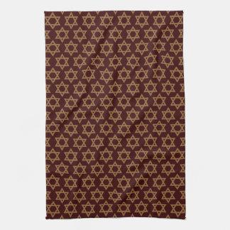 Designer Star of David Tea Towel