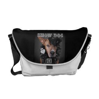 """Designer Style """"Show Dog"""" Messenger Bag"""