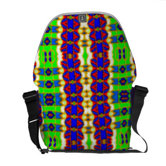 Designer tribal abstract commuter lifestyle bag courier bags