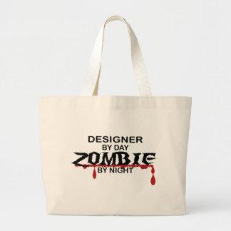 Designer Zombie Jumbo Tote Bag