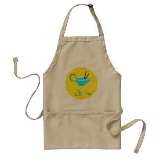 Designers apron with Vintage cocktail
