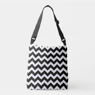 Designers bag with zig-zag old Stripes