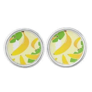 Designers banana yellow Cufflinks
