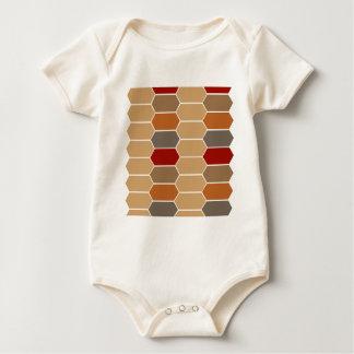 DESIGNERS BROWN VINTAGE MOROCCO BABY BODYSUIT