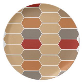DESIGNERS BROWN VINTAGE MOROCCO PLATE