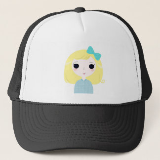 Designers cute blond Manga Trucker Hat