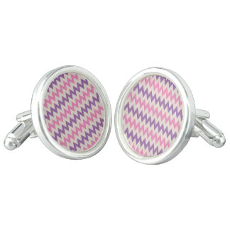 Designers earrings : zig zag Edition Cufflinks