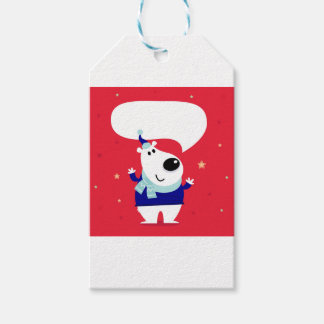 Designers edition with Arctic teddy Gift Tags