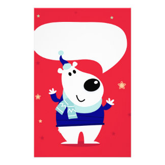 Designers edition with Arctic teddy Stationery