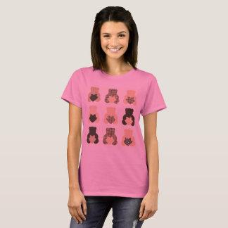 Designers girl tshirt with Sweet teddies