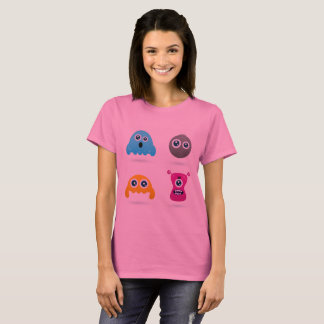 DESIGNERS GIRLS T-SHIRT with Creatures