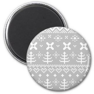 Designers hand-crafted Artwork / plastic Button 6 Cm Round Magnet