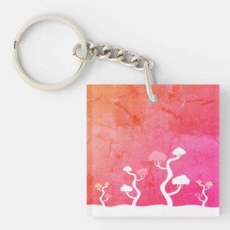 Designers keychain with Bonsai