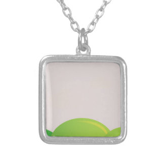 Designers keychaine : silver silver plated necklace