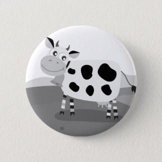 Designers kids button : with Cow