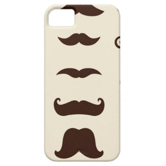 Designers kids edition with Mustaches Barely There iPhone 5 Case