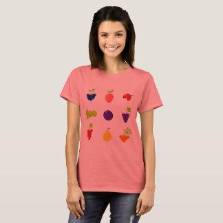 Designers ladies t-shirt with Fruit