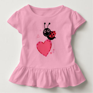 Designers little t-shirt with flying bee