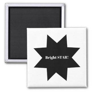 Designers magnet : black n white