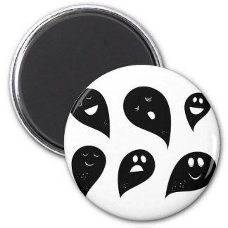 Designers magnet with Ghosts