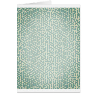 Designers paper greeting : San telmo blue Card