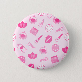 Designers plastic button with wellness icons