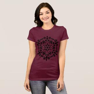 Designers t-shirt brown with Mandala