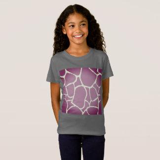 Designers t-shirt grey with Giraffe print