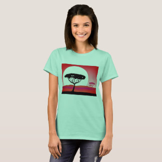 Designers t-shirt MINT, Safari theme